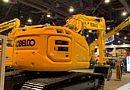 Conexpo: Kobelco stelt binnendraaier van 38 ton voor.